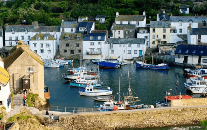 A picture of Polperro