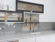 Fused Glass Art Sandbanks Dalaman Splashback
