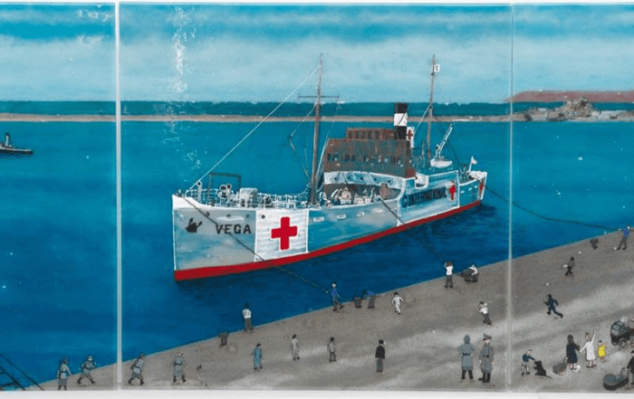 Our tribute to the Red Cross ship that saved Channel Islanders from WW2 starvation