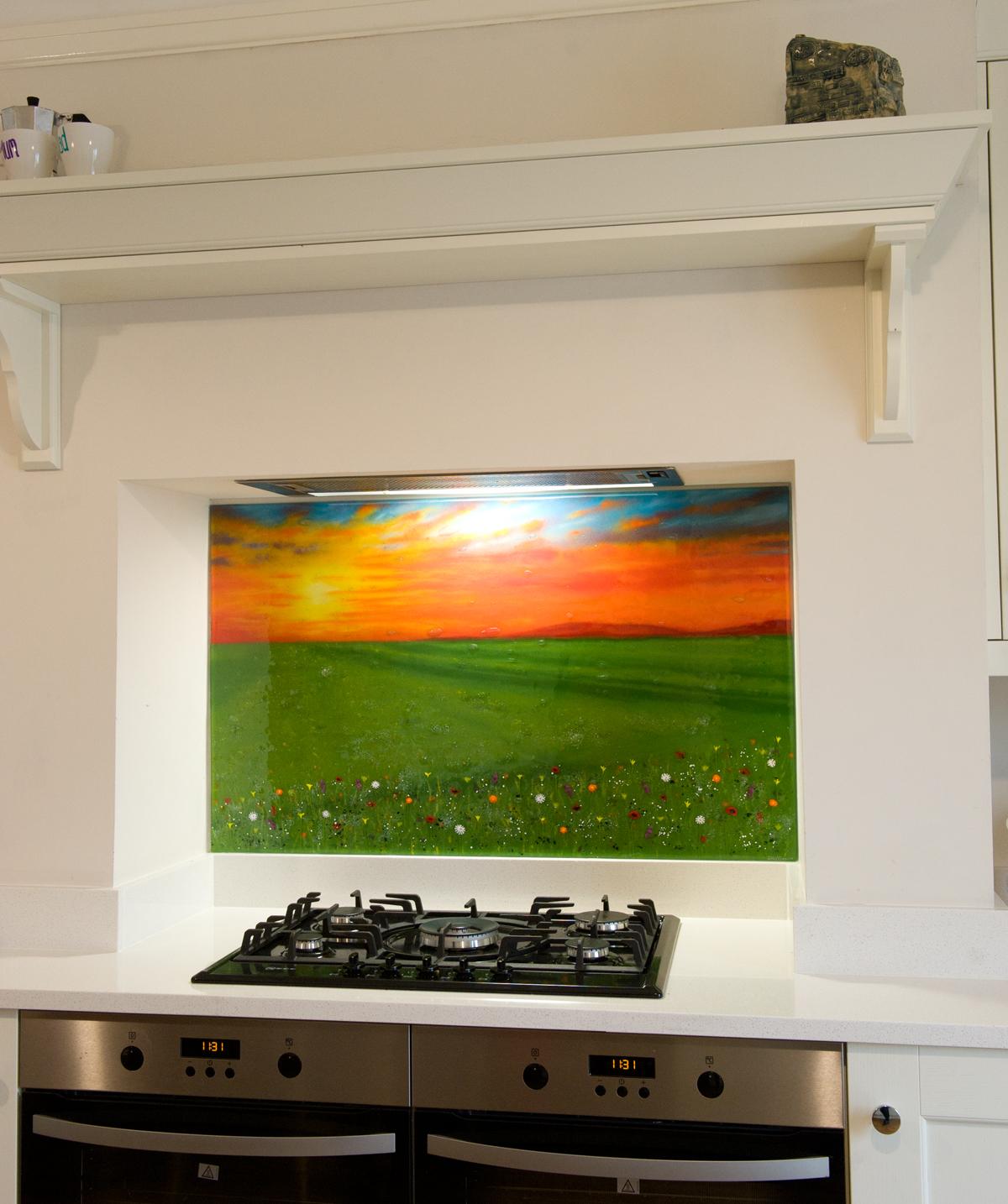 Kitchen Gallery Westhill: Glass Splashbacks Manchester