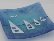 affordable fused glass art