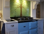 Glass Splashbacks Cheshire Bespoke Green Tree of Life