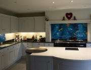 Fused Glass Art Fish Splashbacks Rickmansworth