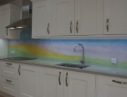 Fused Glass Art Hertfordshire Splashback