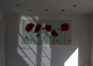 Fused Glass Wall Art Eccles