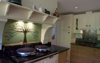 Coloured Glass Splashbacks Gerards Cross Buckinghamshire