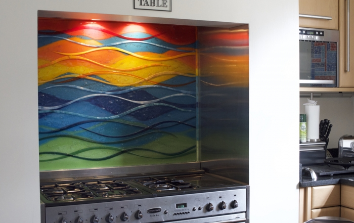 Fused Glass Makes for a Colourful Cooker