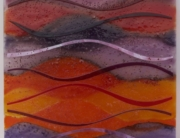 Fused Glass Art for the New Year
