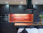 Fused Glass Kitchen Splashbacks