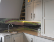 Bespoke Fused Glass Kitchen Splashbacks Yorkshire