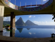Fused Glass Art at Jade Mountain
