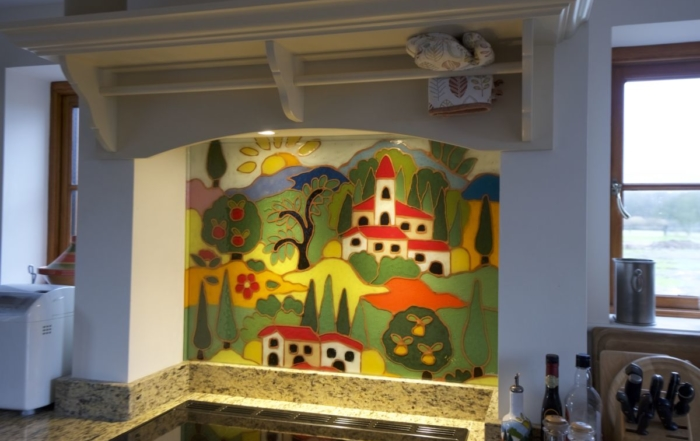 Images and Fused Glass Art