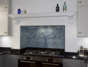 Bespoke Fused Glass Kitchen Splashbacks Urmston