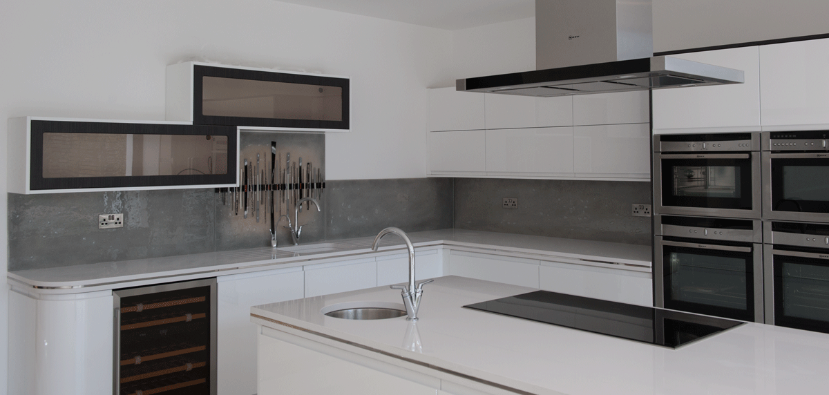 Even at its simplest, fused glass art will always have far more detail than even the most expensive coloured splashbacks.