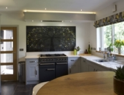 Tree of Life Black Coloured Glass Splashbacks