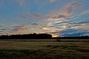 Coloured Glass Splashbacks Scotland - Sunset in Scotland