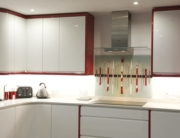 Coloured Glass Splashbacks Scotland
