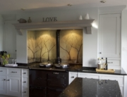 Fused Glass Kitchen Splashbacks Hampshire