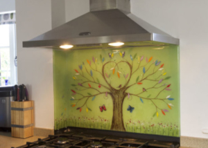 Bespoke Glass Splashbacks Tree of Life