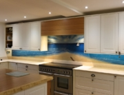 Fused Glass Kitchen Splashbacks Bristol