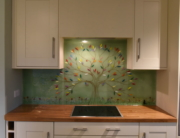 Bespoke Glass Splashbacks Olive Tree of Life